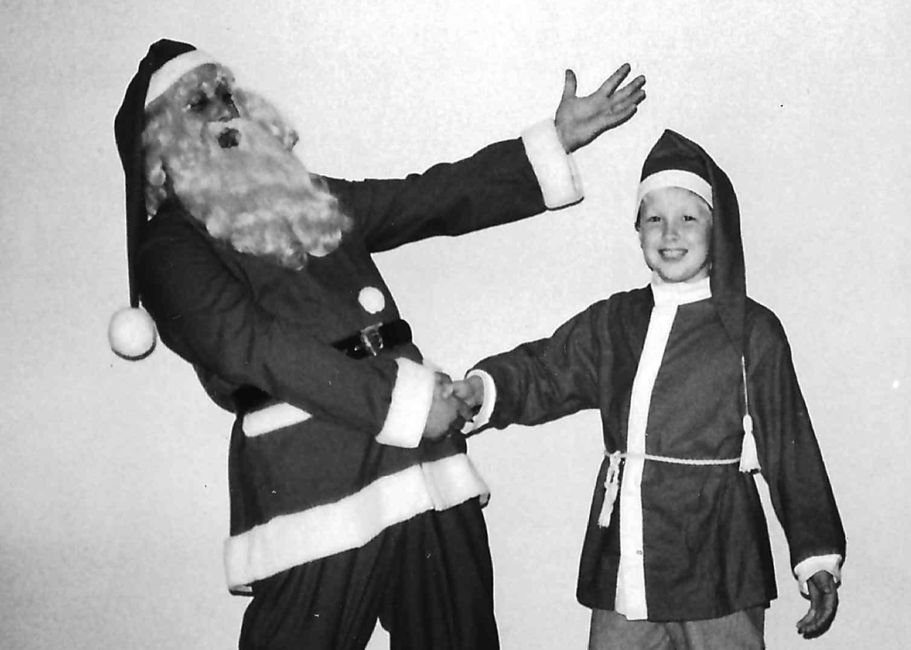 Mig og min far, Julemanden aka Troldmanden Alakazam.